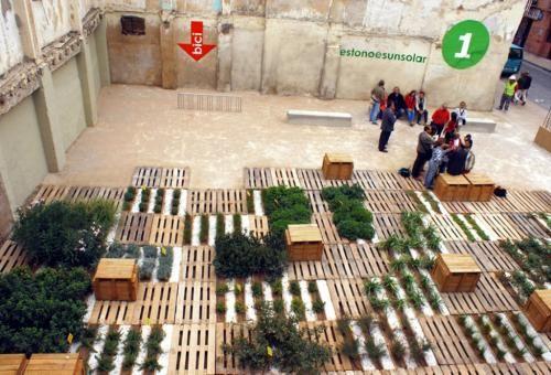 Reuse of Urban Voids in Zaragoza