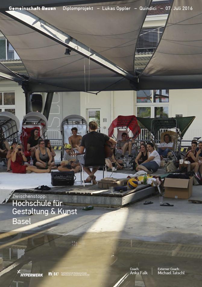 Zwischenstopp: Hochschule für Gestaltung & Kunst Basel