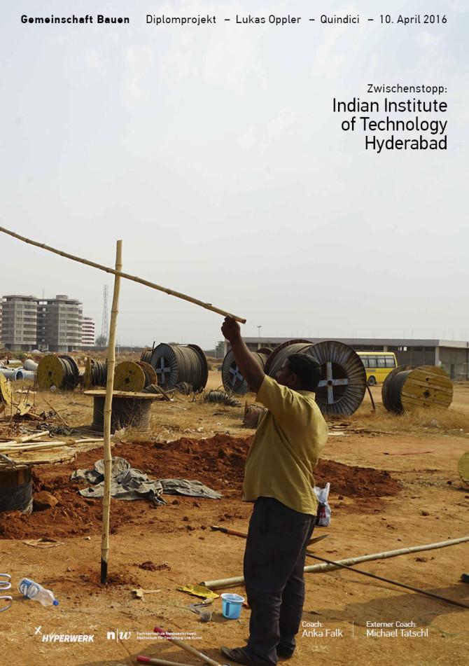 Zwischenstopp: Indian Institute of Technology Hyderabad